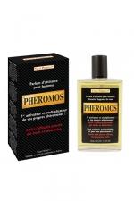 Parfum aphrodisiaque Pheromos : Un parfum d'attirance pour hommes.