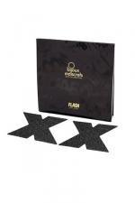 Bijoux de seins Flash Croix : Avec ces décorations permettant de cacher les mamelons, osez laisser le soutien-gorge au placard !