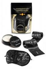 Set Instruments de Plaisir - Orange : Un pack de 3 accessoires coquins Level Orange proposé par Bijoux Indiscrets.