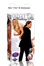 Coffret White wedding Kit : Le kit ultime pour vos soirées spéciales avec tout le nécessaire pour passer une nuit de sexe et de folie.