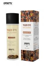 Huile massage BIO Oeil de Tigre Macadamia - Exsens