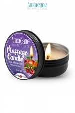 Bougie de massage fruit exotique - Amoreane