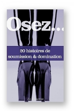 Osez 20 histoires de soumission et domination : 20 histoires de sadomasochisme et de relations perverses pour mettre un coup de fouet à vos fantasmes.